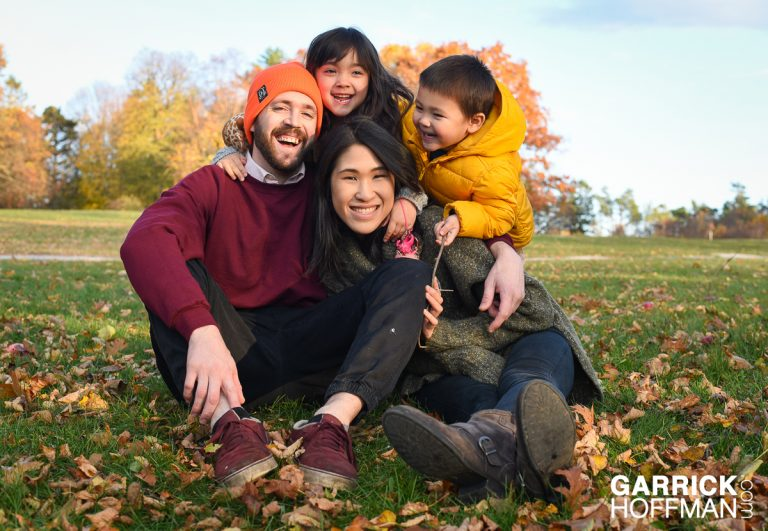 Maine Family Portrait by Garrick Hoffman Photography