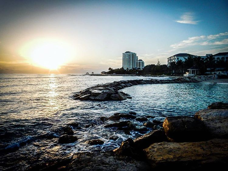 Jamaican Sunrise by Garrick Hoffman Photography