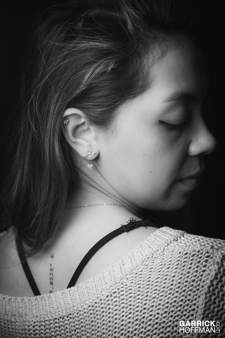 Studio Portrait, by Garrick Hoffman Photography