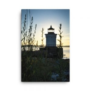 Sunrise at Bug Light Park, Canvas Print, by Garrick Hoffman Photography
