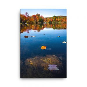 Autumn in Greenwood Maine, Canvas Print, by Garrick Hoffman Photography