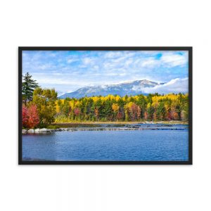 Katahdin Colors, Framed Poster, by Garrick Hoffman Photography