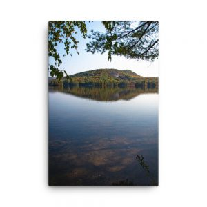 Island on North Pond, Canvas Print, by Garrick Hoffman Photography