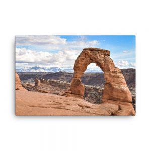 Delicate Arch, Canvas Print, by Garrick Hoffman Photography
