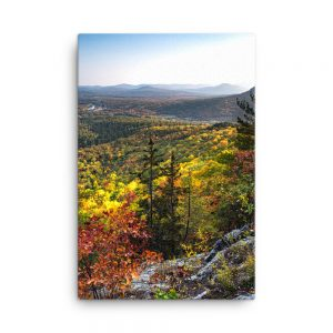 Autumn Colors from Mt. Will, Canvas Print, by Garrick Hoffman Photography