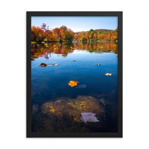 Autumn in Greenwood Maine, Framed Poster, by Garrick Hoffman Photography