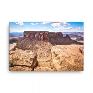 Morning at Canyonlands Utah, Canvas Print, by Garrick Hoffman Photography