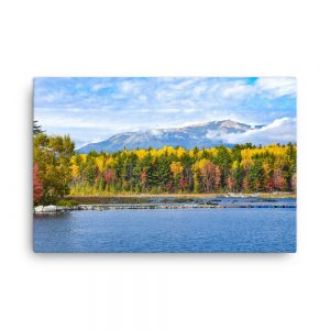 Katahdin Colors, Canvas Print, by Garrick Hoffman Photography