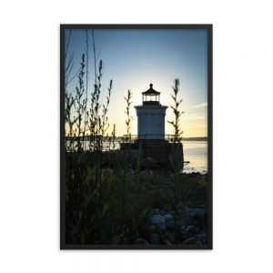Sunrise at Bug Light Park, Framed Poster, by Garrick Hoffman Photography