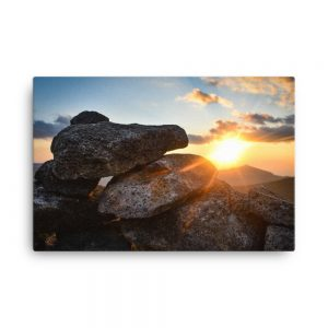 Mount Bond Sunset, Canvas Print, by Garrick Hoffman Photography