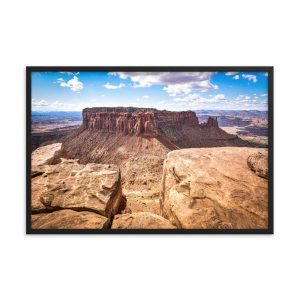 Morning at Canyonlands Utah, Framed Poster, by Garrick Hoffman Photography