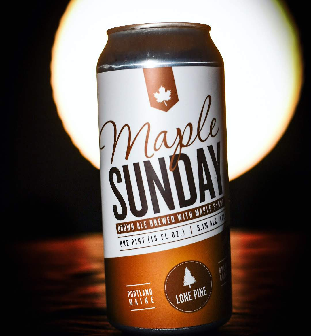 Maine Beer Photography, Product Photo, by Garrick Hoffman Photography