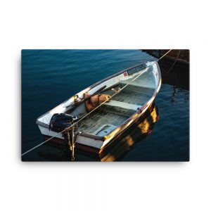Georgetown Dinghy, Canvas Print, by Garrick Hoffman Photography