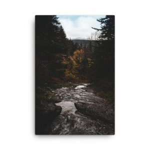 Lost in Grafton Notch, Canvas Print, by Garrick Hoffman Photography