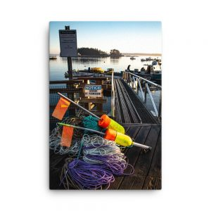 Lobsterman's Life, Canvas Print, by Garrick Hoffman Photography
