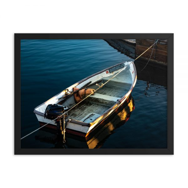 Georgetown Dinghy, Framed Poster, by Garrick Hoffman Photography