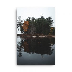 Androscoggin Mood, Canvas Print, by Garrick Hoffman Photography