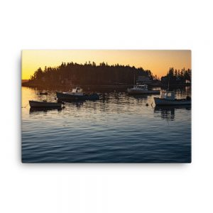 Five Islands Sunrise, Canvas Print, by Garrick Hoffman Photography
