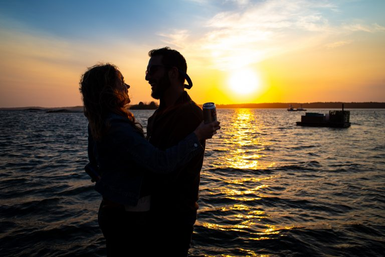 Maine Engagement Photography, by Garrick Hoffman Photography