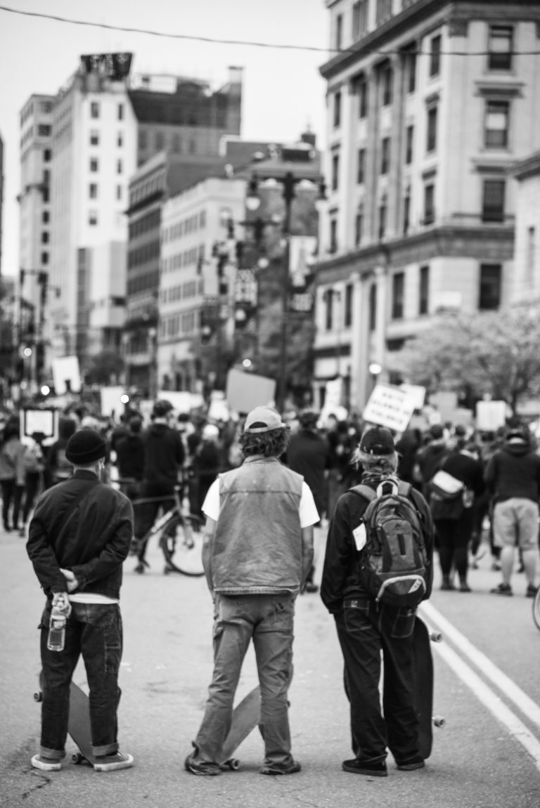 George Floyd, Black Lives Matter Protest by Garrick Hoffman Photography