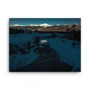 Fading Light on Washington, Canvas Print, by Garrick Hoffman Photography