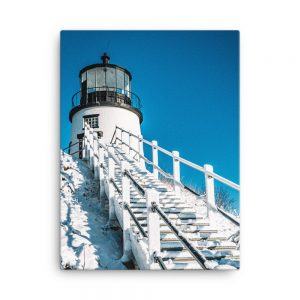 Morning at Owls Head, Canvas Print, by Garrick Hoffman Photography