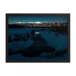 Fading Light on Washington, Framed Print, by Garrick Hoffman Photography