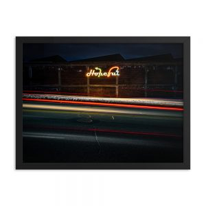 Hopeful, Framed Print, by Garrick Hoffman Photography