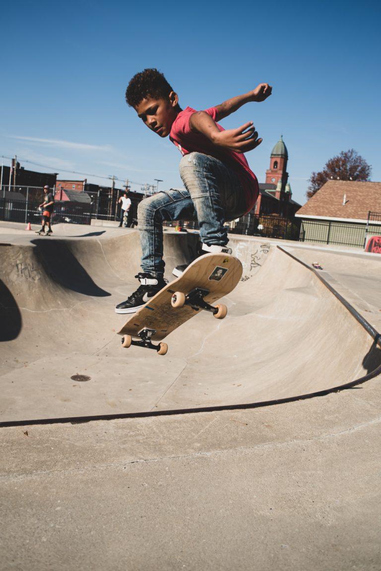 Skateboarder by Garrick Hoffman Photography