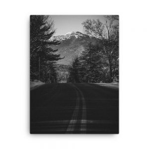 Road to the Mountains, Canvas Print, by Garrick Hoffman Photography