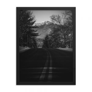 Road to the Mountains, Framed Print, by Garrick Hoffman Photography